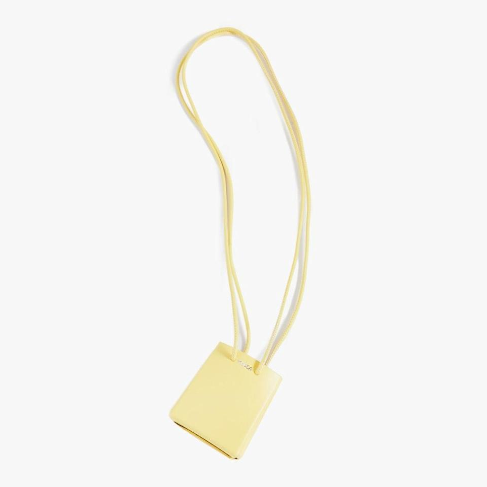 "If they're into the micro handbag trend, this little guy will make for the perfect gift. $144, SHOPBOP. <a href=""https://www.shopbop.com/mini-medea-long-strap/vp/v=1/1551589371.htm"" rel=""nofollow noopener"" target=""_blank"" data-ylk=""slk:Get it now!"" class=""link rapid-noclick-resp"">Get it now!</a>"