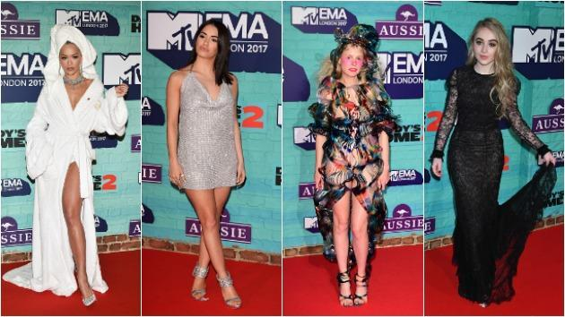 <p>2017 MTV EMAs: Rita Ora in a Dressing Gown and More</p>