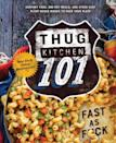 <p><span><strong>Thug Kitchen 101: Fast as F*ck</strong></span> ($15) features 100 easy recipes that are guaranteed to be faster than delivery. Now your man doesn't have to live on fast food!</p>