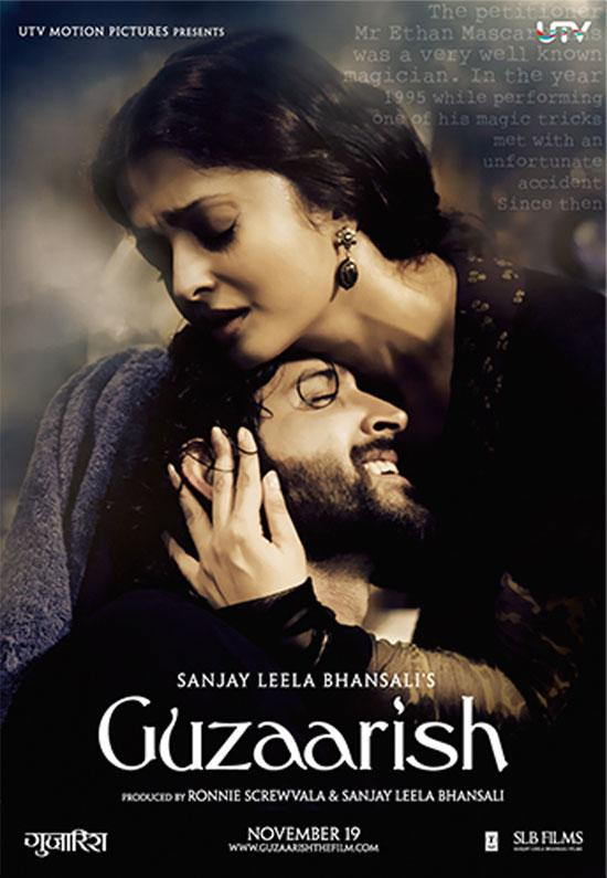 "<p>It takes unusual courage to respect the wishes of the person whom you love, especially when it means to help him die. When quadriplegic Ethan's (Hrithik Roshan) appeal for euthanasia gets rejected by the court, his caretaker Sofia (Aishwarya Rai) decides to help fulfill his only wish. Ethan reminds Sofia that she could go to jail for years for abetting him, but she replies ""twenty years, forty years, it doesn't matter."" Sofia leaves her husband to be there beside Ethan as his wife during his final moments, making him feel loved and belonged.</p>"