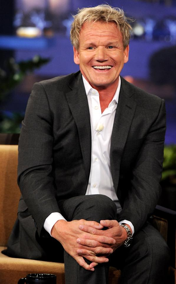 Celebrity chef Gordon Ramsay turns 45 on November 8.