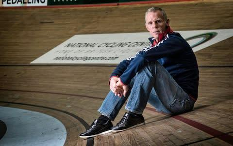 <span>Shane Sutton was a key part of British Cycling and Team Sky's successes in the last decade</span> <span>Credit: Paul Cooper </span>