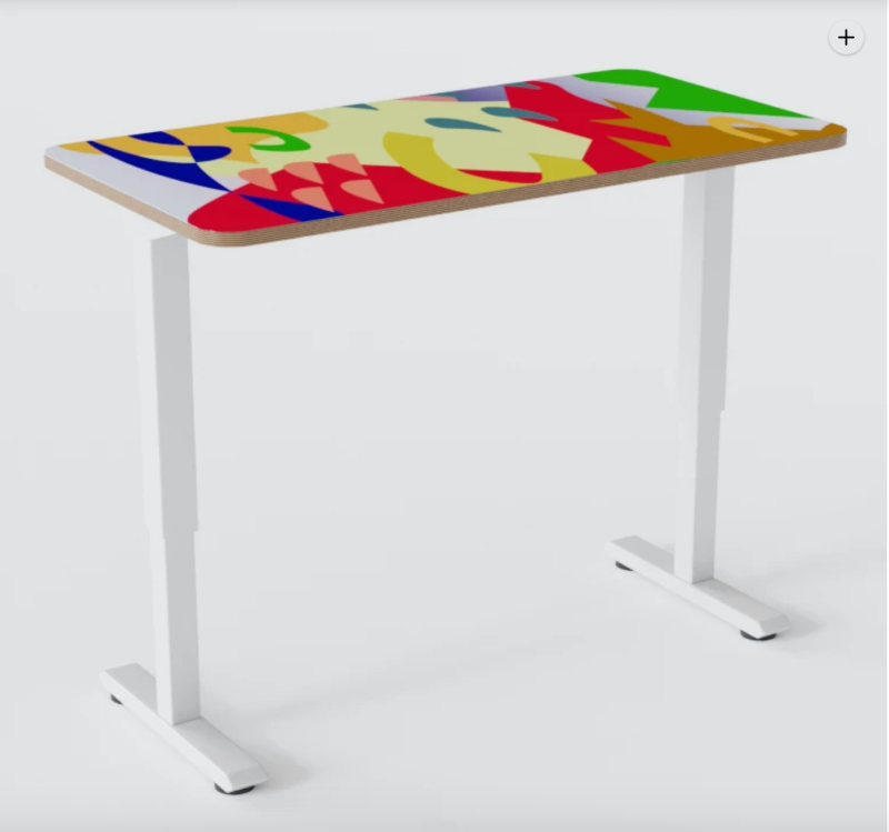 A super-colorful Play Standing Desk from Chassie.