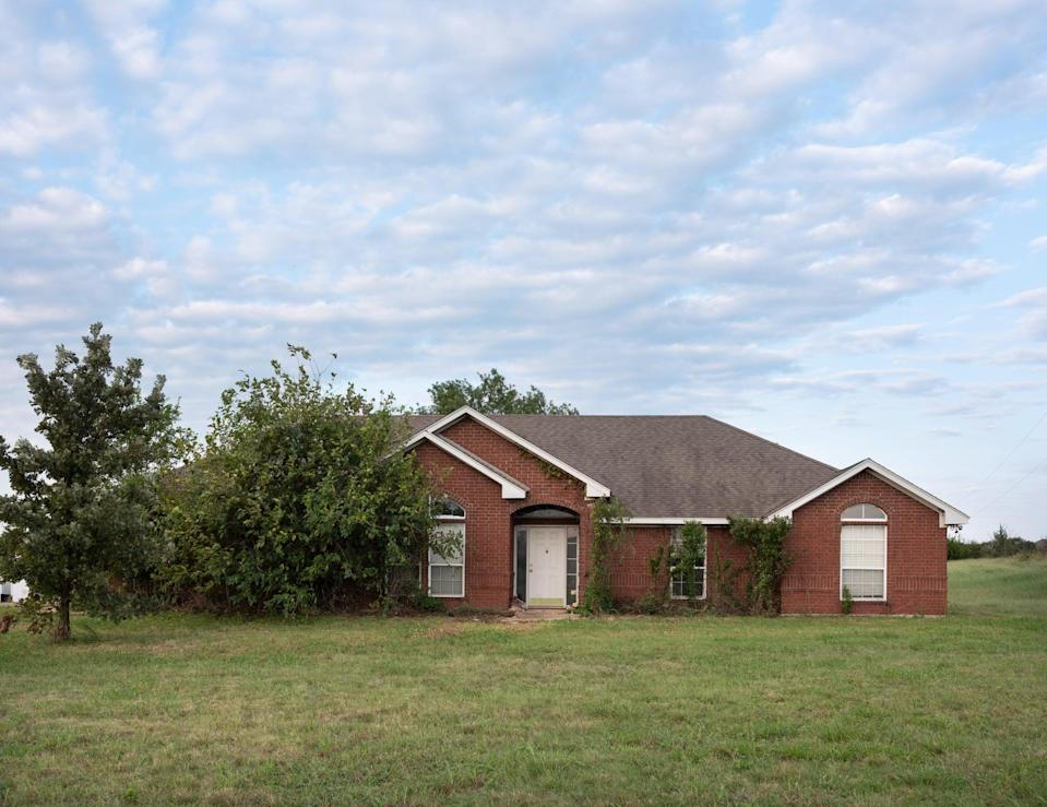 <p>Lucas and Laney's previously neglected and outdated brick home was nowhere near ready to be moved into.</p>