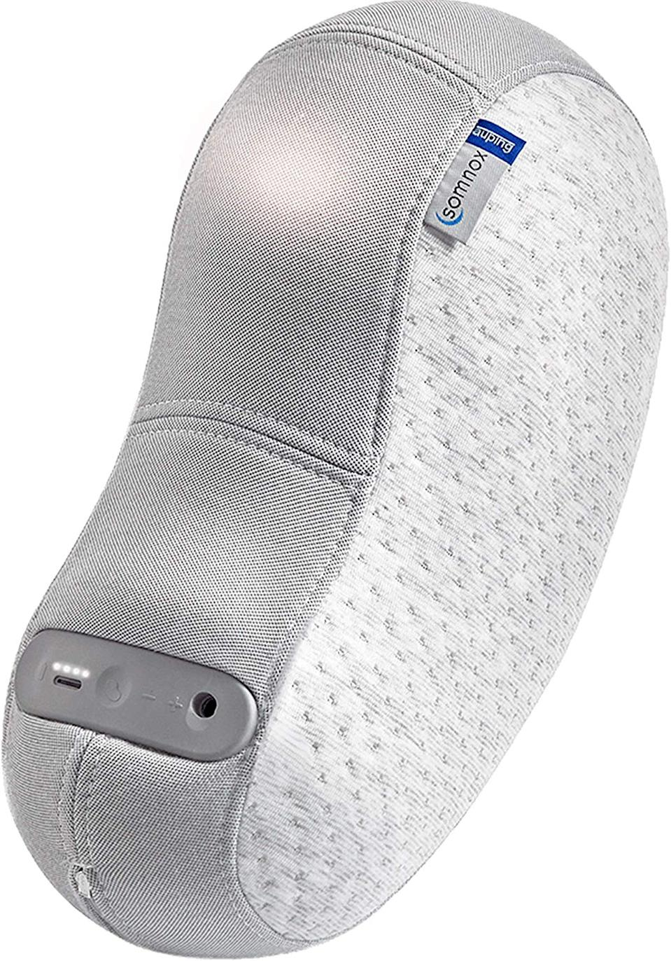 """<h2>Somnox Sleep Robot</h2>If you have a lot of extra dough to drop (this thing is pretty pricey) and you struggle with sleep, this sleep robot helps regulate your breathing and lower your heart rate so that you fall asleep faster and remain asleep for longer. Plus, it's $100 off for Black Friday and Cyber Monday. <br><br><br><strong>Somnox</strong> Somnox Sleep Robot, $, available at <a href=""""https://www.amazon.com/Somnox-Sleep-Robot-Connection-Compatible/dp/B07S2Y18PK"""" rel=""""nofollow noopener"""" target=""""_blank"""" data-ylk=""""slk:Amazon"""" class=""""link rapid-noclick-resp"""">Amazon</a><br>"""