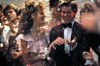 """<p><em>Footloose</em>, a movie about a small town with a ban on dancing, of all things, is worth watching just for the iconic scene in which Kevin Bacon does <a href=""""https://www.youtube.com/watch?v=nc8crnqKEns"""" rel=""""nofollow noopener"""" target=""""_blank"""" data-ylk=""""slk:a rage dance inside an empty warehouse"""" class=""""link rapid-noclick-resp"""">a rage dance inside an empty warehouse</a>.</p> <p><em>Available to rent on</em> <a href=""""https://www.amazon.com/Footloose-Kevin-Bacon/dp/B00351ZUHY"""" rel=""""nofollow noopener"""" target=""""_blank"""" data-ylk=""""slk:Amazon Prime Video"""" class=""""link rapid-noclick-resp""""><em>Amazon Prime Video</em></a>.</p>"""