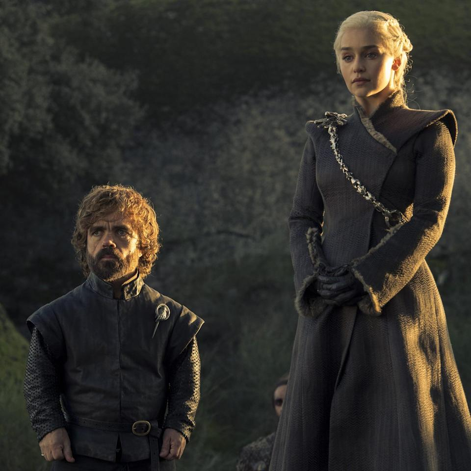 Tyrion and Daenerys hang out (credit: HBO)