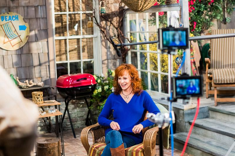 Reba McEntire ABC Studios, on the set of Malibu Country Studio City, CA Photo by Nicole Goddard