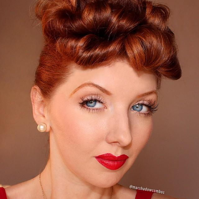 "<p>Dress up as everyone's favorite redhead for the day by following this makeup tutorial that shows you how to get a classic 1950s look. Though <a href=""https://www.goodhousekeeping.com/beauty/a32894/lucille-ball-young/"" rel=""nofollow noopener"" target=""_blank"" data-ylk=""slk:she wasn't a natural redhead"" class=""link rapid-noclick-resp"">she wasn't a natural redhead</a>, this look is amplified by a red wig, <a href=""https://www.goodhousekeeping.com/beauty/hair/g2441/red-hair-color-ideas/"" rel=""nofollow noopener"" target=""_blank"" data-ylk=""slk:red hair dye"" class=""link rapid-noclick-resp"">red hair dye</a>, or even better, naturally red hair.</p><p><a class=""link rapid-noclick-resp"" href=""https://www.amazon.com/Maybelline-Makeup-Sensational-Lipstick-Scarlet/dp/B00N6Z09DE?tag=syn-yahoo-20&ascsubtag=%5Bartid%7C10055.g.2599%5Bsrc%7Cyahoo-us"" rel=""nofollow noopener"" target=""_blank"" data-ylk=""slk:SHOP RED LIPSTICK"">SHOP RED LIPSTICK</a></p><p><a href=""https://www.instagram.com/p/0YwrzdpNdW/&hidecaption=true"" rel=""nofollow noopener"" target=""_blank"" data-ylk=""slk:See the original post on Instagram"" class=""link rapid-noclick-resp"">See the original post on Instagram</a></p>"
