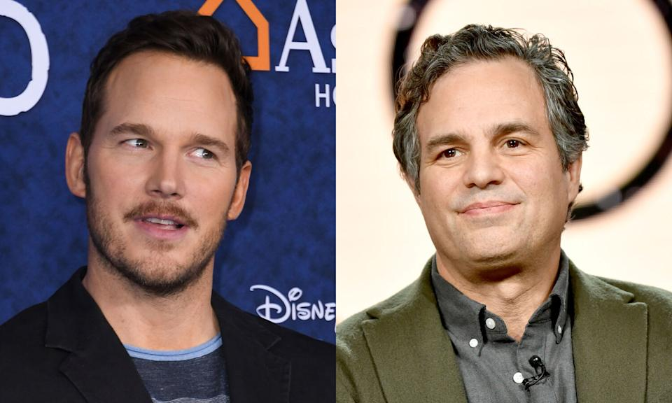 "Mark Ruffalo is trying to shut down the conversation that Chris Pratt is the ""worst Hollywood Chris."" (Photo: Getty Images)"