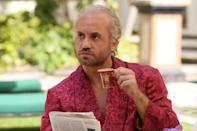 """<p><strong>The one-sentence pitch:</strong> """"Like it's titled, it's about the murder of Gianni Versace, but what the show is really about is what leads up to that murder,"""" says <em>ACS</em> executive producer Brad Simpson. """"And most people who know about Versace know he was murdered by Andrew Cunanan, but they probably don't know that he was the final victim in a killing spree.""""<br><strong>What to expect:</strong> """"This season is a very different flavor. It's a different mood, it's a different type of crime, and a different type of storytelling,"""" Simpson says of the new season, which unfolds Cunanan's crime in a nonlinear fashion, beginning with Versace's murder and revealing Cunanan's other victims in reverse chronological order. """"We felt like it was important to not have the audience spend eight episodes waiting for that murder to happen, so we get right to the most famous murder. Then … we've all seen stories of the evolution of a killer, where you follow someone as they commit their first murder, climaxing with something bigger. We thought it was more interesting to do it in reverse, tell you the whole story in reverse, go victim by victim into the past and really try to understand not just who these other victims were but also why [Cunanan] ended up on this path.""""<br><br><strong><em>Glee</em>-ful cast:</strong> Penelope Cruz as Donatella Versace, Edgar Ramirez as Gianni, Ricky Martin as Versace's boyfriend Antonio, as well as memorable performances from Judith Light, Finn Wittrock, Dascha Polanco, Mike Farrell, Max Greenfield, and newcomer Cody Fern pepper the season, but it's singer and <em>Glee</em> alum Darren Criss, as Cunanan, who is most mesmerizing as the undeniably charming, and disturbed, serial killer. """"Versace and Andrew Cunanan were both born into circumstances in which they were gay men with ambition, with taste, and who people genuinely liked,"""" Simpson says. """"Andrew was very well-liked until a certain age. … We wanted to explore what sets one off """