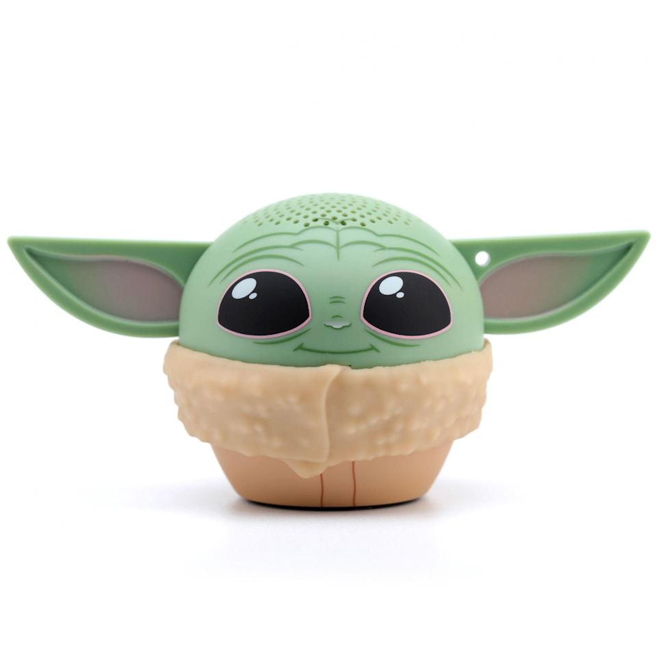 "<p><strong>Star Wars</strong></p><p>walmart.com</p><p><strong>$24.99</strong></p><p><a href=""https://go.redirectingat.com?id=74968X1596630&url=https%3A%2F%2Fwww.walmart.com%2Fip%2F995177764&sref=https%3A%2F%2Fwww.redbookmag.com%2Flife%2Fg34593686%2Fwalmart-teen-gifts%2F"" rel=""nofollow noopener"" target=""_blank"" data-ylk=""slk:Shop Now"" class=""link rapid-noclick-resp"">Shop Now</a></p><p>Even jaded teens are powerless to resist the adorableness that is The Child. This little Baby Yoda speaker connects via bluetooth to crank out their favorite tunes. </p>"