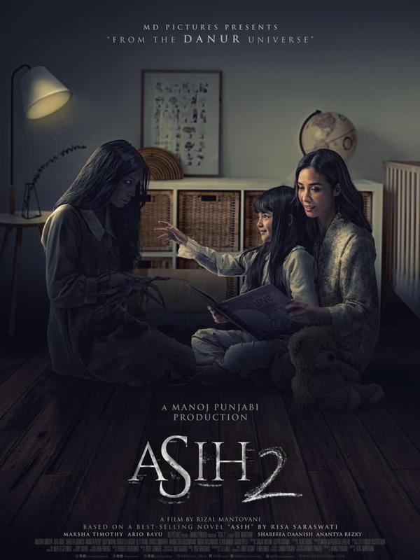 Poster film Asih 2. (Foto: Dok. MD Pictures)