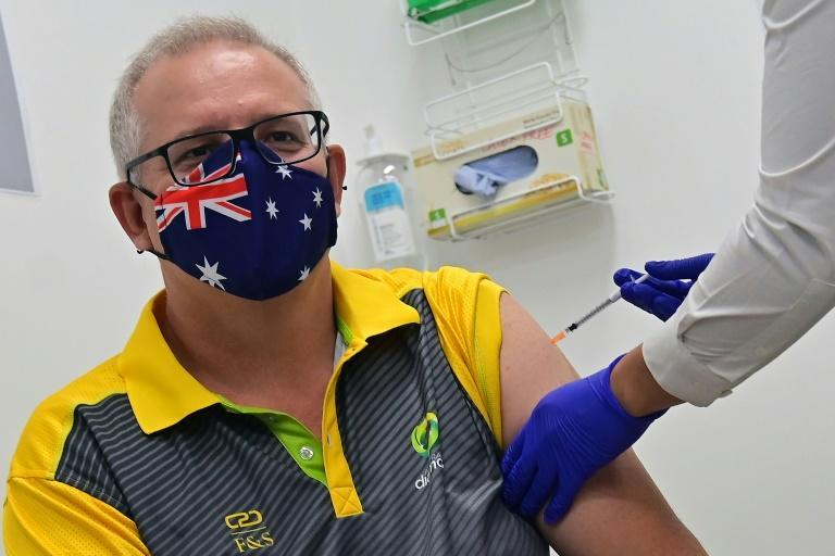 Australia's Prime Minister Scott Morrison has tried to ease public concerns about vaccine safety