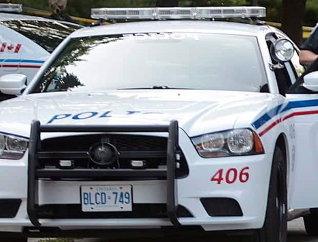 Barrie Police have cancelled an Amber Alert for a three-year-old girl, who they earlier said was missing and last seen Monday afternoon in the Lampman Lane Park area of Barrie. (Benjamin Ricetto/The Canadian Press - image credit)