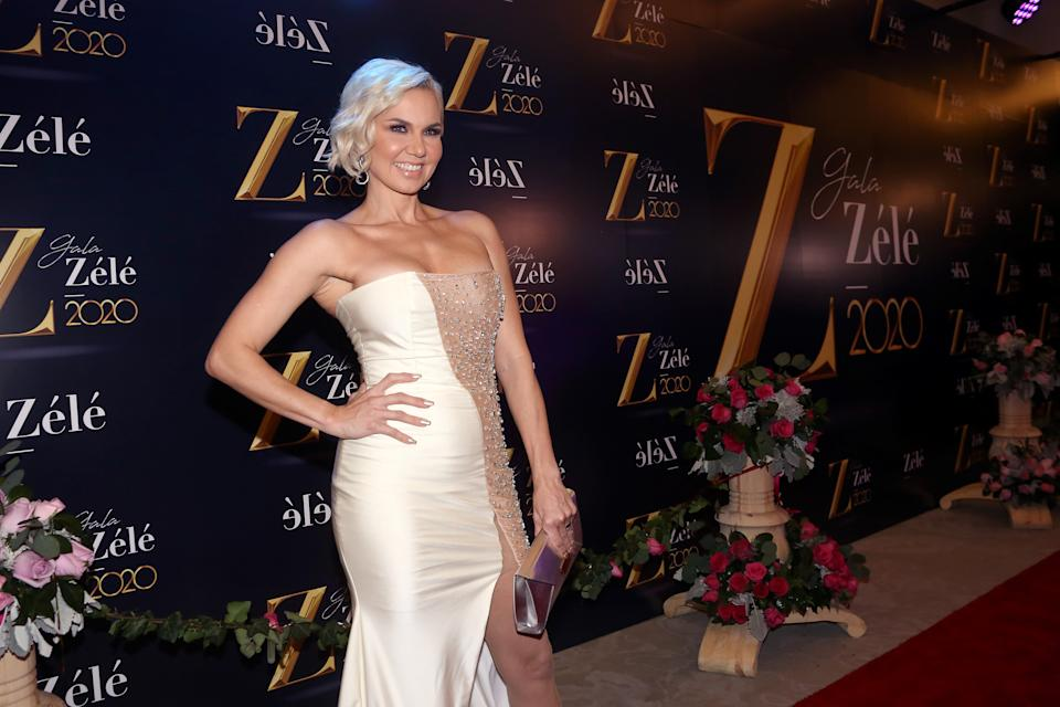 MEXICO CITY, MEXICO - JANUARY 15: Michelle Vieth poses for photos during the red carpet of ZÈlÈ Gala 2020 on January 15 in Mexico City, Mexico. (Photo by Adrián Monroy/Medios y Media/Getty Images)