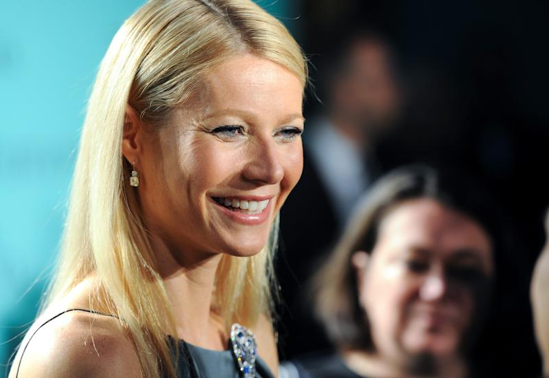 "Actress Gwyneth Paltrow attends the Tiffany & Co. Blue Book Ball at Rockefeller Center on Thursday, April 18, 2013 in New York. People magazine has named Paltrow as the World's Most Beautiful Woman for 2013. The 40-year-old actress tops the magazine's annual list of the ""World's Most Beautiful,"" announced Wednesday, April 24, 2013. (Photo by Evan Agostini/Invision/AP, File)"