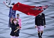 """<p>Would you expect Bermuda to show up in anything other than the shorts they're famous for? </p> <p>*Sings the <a href=""""https://www.youtube.com/watch?v=4wq43VPiGmc"""" rel=""""nofollow noopener"""" target=""""_blank"""" data-ylk=""""slk:'Bermuda Shorts' jingle"""" class=""""link rapid-noclick-resp"""">'Bermuda Shorts' jingle</a> from Old Navy's iconic 2005 commercial* </p>"""