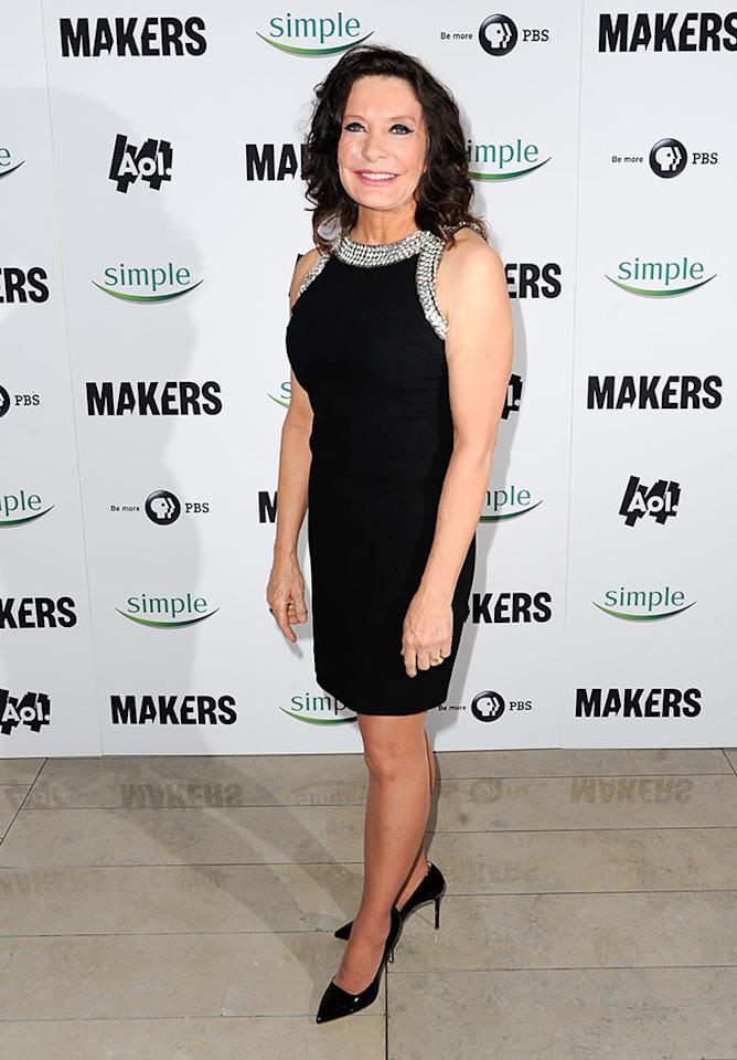 "Linda Alvarado arrives at ""MAKERS: Women Who Make America"" New York Premiere at Alice Tully Hall on February 6, 2013 in New York City."