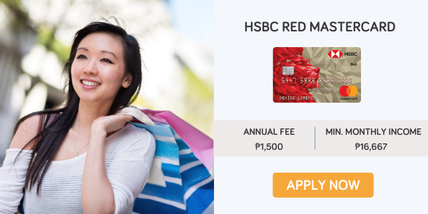 credit cards for women - hsbc red mastercard