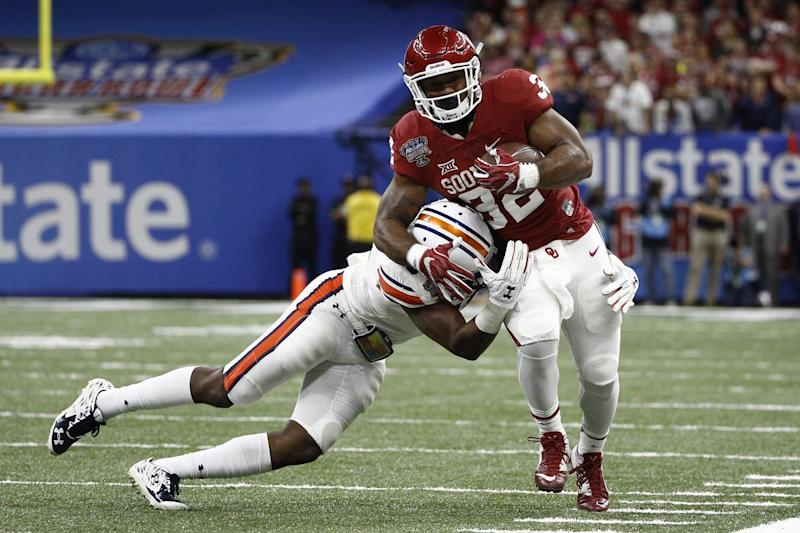 Samaje Perine Gets Picked In The Fourth Round By The Washington Redskins