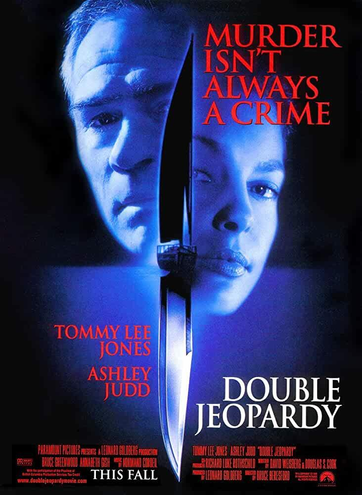 """If you're looking for some old school murder mystery, then this one's just for you. 'Double Jeopardy' is a story about a woman who is framed for her husband's murder, but she suspects he is still alive. This movie reminded me of Urmila Matondkar's 'Ek Haseena Thi'. You can watch this movie on <a href=""""https://www.netflix.com/search?q=Double%20Jeopardy&jbv=455956&jbp=0&jbr=0"""" rel=""""nofollow noopener"""" target=""""_blank"""" data-ylk=""""slk:Netflix"""" class=""""link rapid-noclick-resp"""">Netflix</a>."""