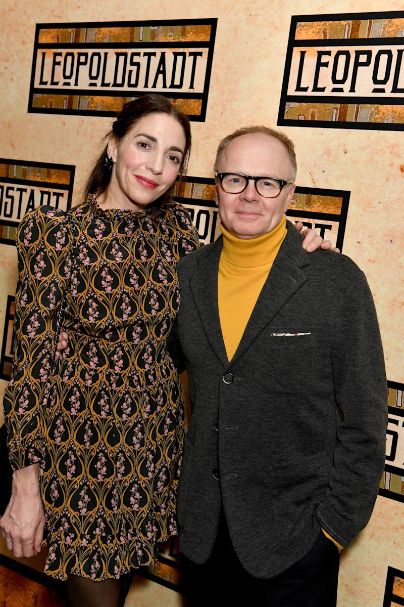 "Clara Francis and Jason Watkins attend the After Party of the press night performance of Tom Stoppard's ""Leopoldstadt"" at the Century Club on February 12, 2020 in London, England. (Photo by David M. Benett/Dave Benett/Getty Images)"