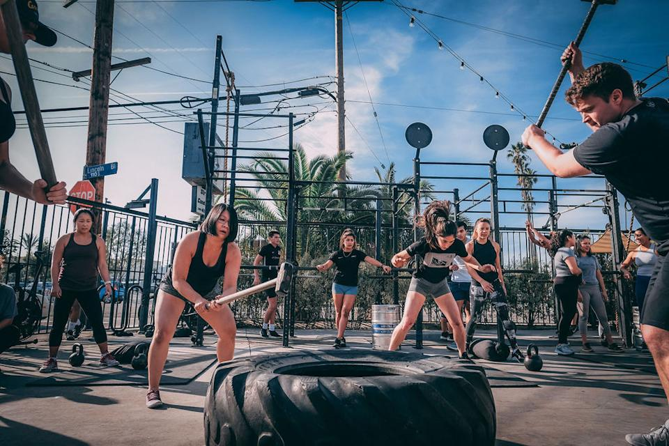 This is what Deuce Gym in Venice, California, looks like on a normal day. (Courtesy of Deuce Gym)