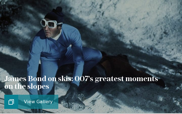 James Bond on skis: 007's greatest moments on the slopes