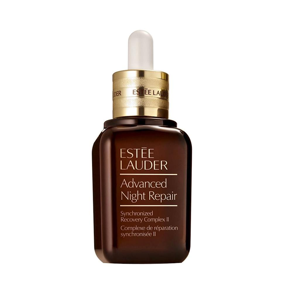 """This serum is a classic for a reason. When it comes to wrinkle reduction, hydration, and general radiance, it can't be beat thanks to the included hyaluronic acid, antioxidants, and Estée Lauder's antiaging technology. $72, Nordstrom. <a href=""""https://m.shop.nordstrom.com/s/estee-lauder-advanced-night-repair-synchronized-recovery-complex-ii-serum/3540192/full?origin=category-personalizedsort&breadcrumb=Home%2FSale%2FBeauty&color=none"""">Get it now!</a>"""
