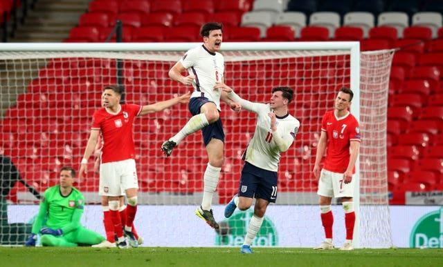 England v Harry Maguire fired England to victory against Poland– FIFA World Cup 2022 – European Qualifying – Group I – Wembley Stadium