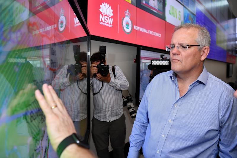 Prime Minister Scott Morrison has sought to assuage fears and called for Australia to end partisan fights. Source: AAP