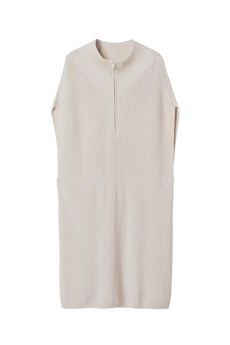"""<br><br><strong>H&M</strong> Rib-Knit Wool-Blend Dress, $, available at <a href=""""https://go.skimresources.com/?id=30283X879131&url=https%3A%2F%2Fwww2.hm.com%2Fen_us%2Fproductpage.1014092002.html"""" rel=""""nofollow noopener"""" target=""""_blank"""" data-ylk=""""slk:H&M"""" class=""""link rapid-noclick-resp"""">H&M</a>"""