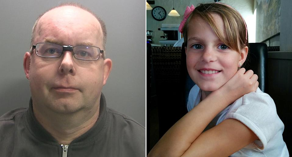 Tony Packenham, left, admitted causing Ingrid's death by dangerous driving. (Cumbria Police/SWNS)
