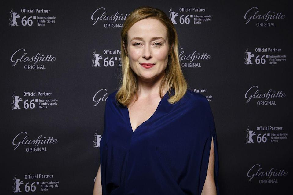 <p>Jennifer Ehle will probably always be known best for her starring (and BAFTA-winning) turn as Elizabeth Bennet in the BBC's beloved 1995 adaptation of <em>Pride and Prejudice</em> (you know, the one with a young, thirst-inducing Colin Firth as Mr. Darcy). In <em>The Comey Rule</em>, Ehle plays Comey's wife, Patrice Failor.</p>