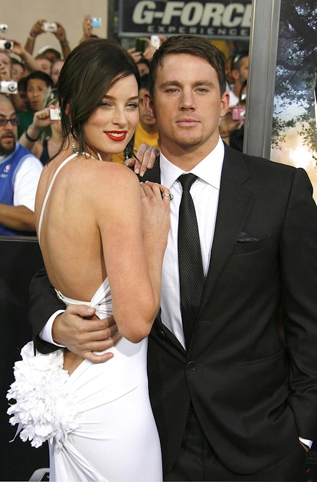 "<a href=""http://movies.yahoo.com/movie/contributor/1807799855"">Rachel Nichols</a> and <a href=""http://movies.yahoo.com/movie/contributor/1808597021"">Channing Tatum</a> at the Los Angeles premiere of <a href=""http://movies.yahoo.com/movie/1809993532/info"">G.I. Joe: The Rise of Cobra</a> - 08/06/2009"