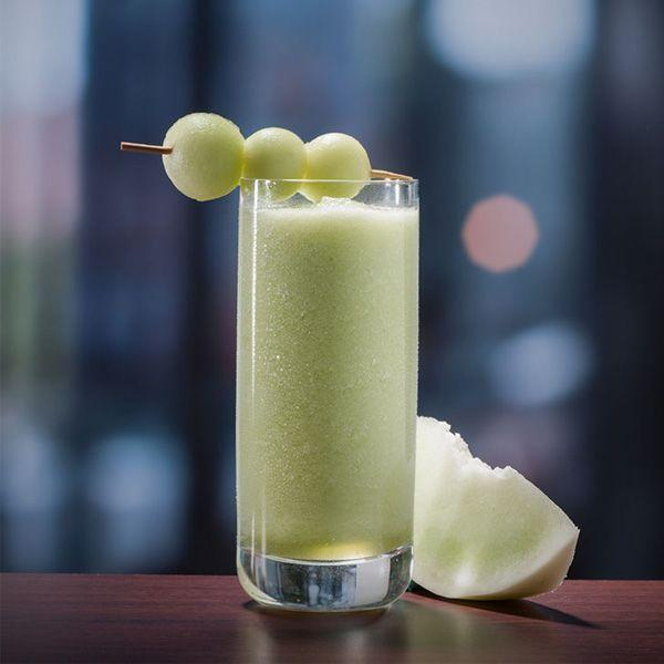 """<p>2 Parts Sauza Signature Blue Silver Tequila</p><p>3 Parts honeydew melon puree</p><p>1 Part agave nectar</p><p>Honeydew melon balls<br> <br>Combine all ingredients into a blender with ice and blend till smooth. Pour into a glass and serve. Garnish with three honeydew melon balls on a toothpick.</p><p><em>Via <a href=""""https://www.sauzatequila.com/"""" rel=""""nofollow noopener"""" target=""""_blank"""" data-ylk=""""slk:Sauza Tequila"""" class=""""link rapid-noclick-resp"""">Sauza Tequila</a></em><br></p>"""