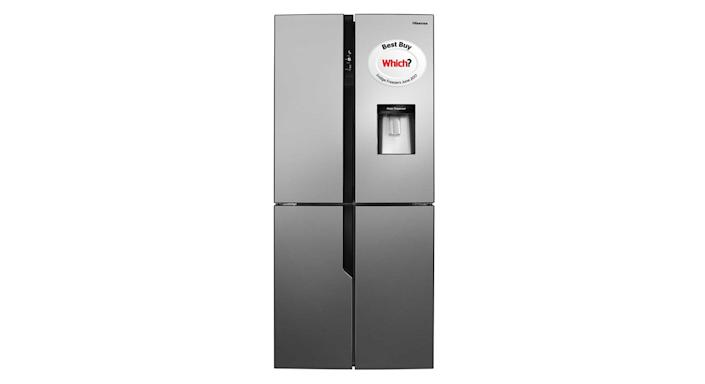 Hisense 79cm wide Total Non Frost American Style Multi-Door Refrigerator-Freezer with Water Dispenser