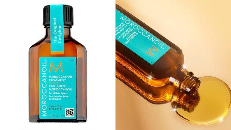 This luxurious Moroccanoil serum keeps your hair smooth no matter the climate.