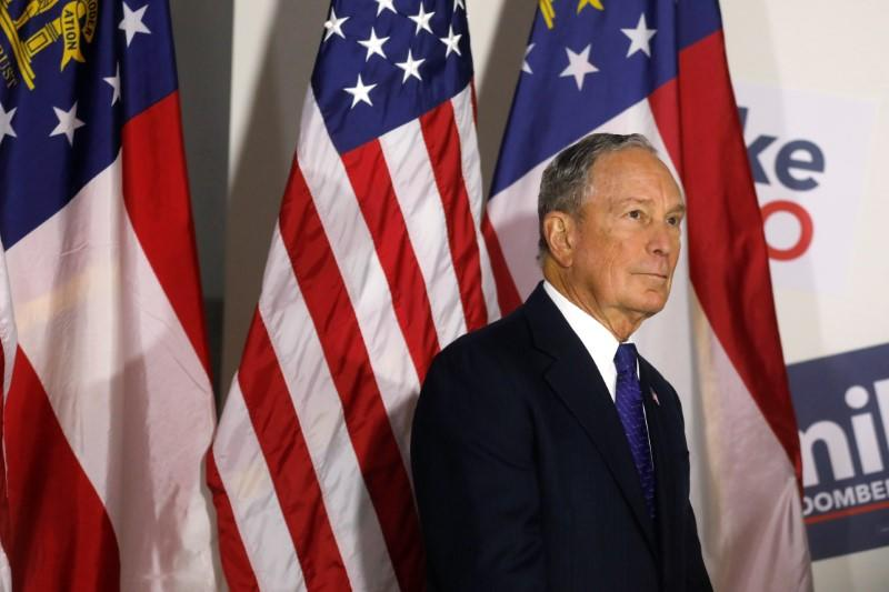 Democrat Bloomberg: 'I'm spending all my money to get rid of Trump'
