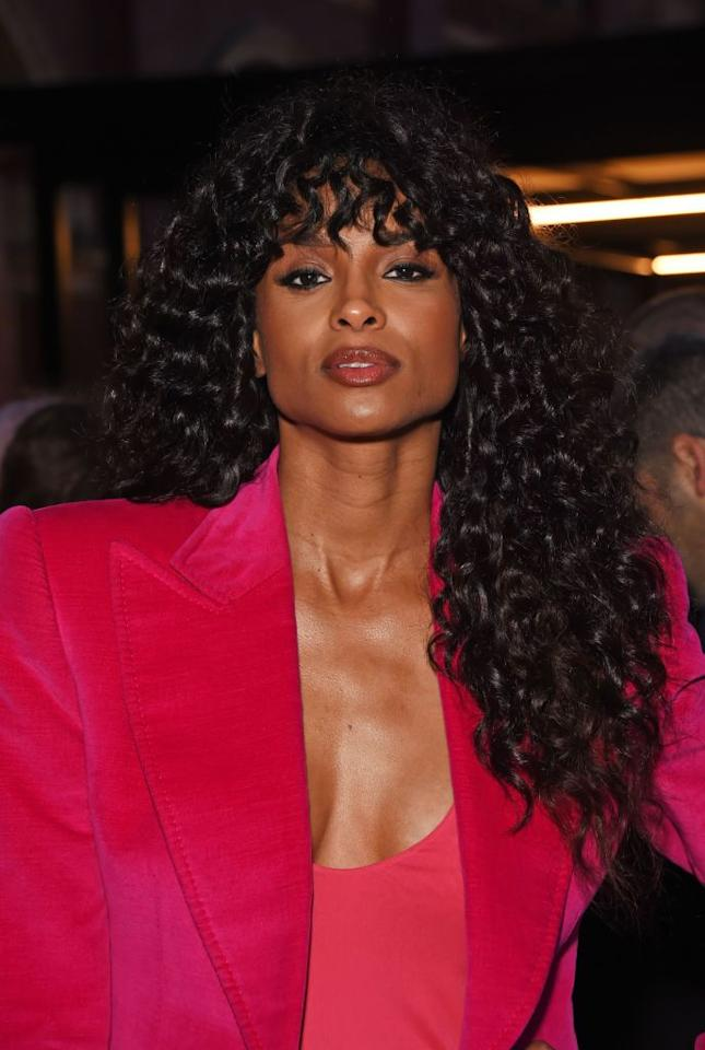 <p>Ciara demonstrates how the cut can still look great with a longer length. Lots of layers will add body and fullness to any cut.</p>
