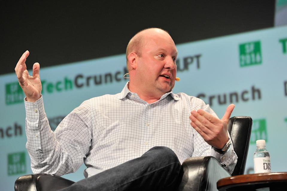Marc Andreessen, co-founder and managing partner of the billion-dollar venture capital firm Andreessen Horowitz.