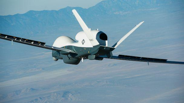 PHOTO: The Northrop Grumman-built Triton unmanned aircraft system completed its first flight from the company's manufacturing facility in Palmdale, Calif. (U.S. Navy photo courtesy of Northrop Grumman by Bob Brown)