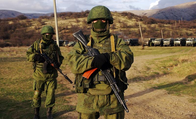 Russian forces seized control of Crimea from Ukraine in March 2014 (AFP Photo/Alexey Kravtsov)