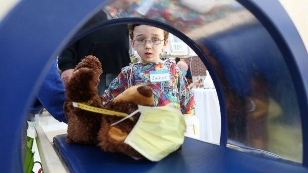 HT teddy bear clinic 2 jt 140322 16x9 608 Young Patients at Indiana Childrens Hospital Diagnose Stuffed Bears
