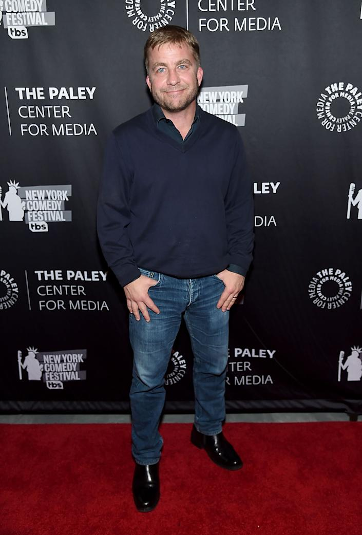 Billingsley, looking very un-bald, at the The Paley Center for Media. (Photo: Jamie McCarthy via Getty Images)