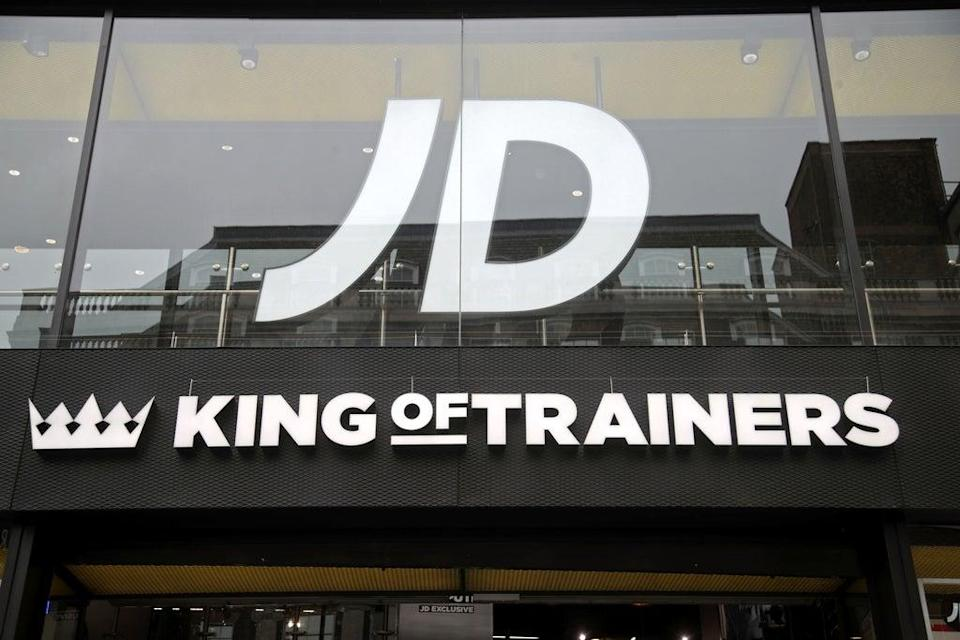 The UK competition watchdog has provisionally upheld its decision to block JD Sports' takeover of rival Footasylum (Yui Mok/PA) (PA Archive)