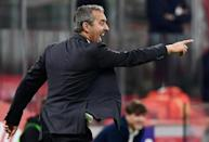 AC Milan coach Marco Giampaolo was under pressure after four defeats in the first six games (AFP Photo/Miguel MEDINA)
