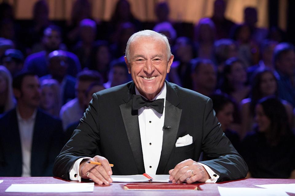 Len on the Dancing With The Stars panel (Photo: Adam Rose via Getty Images)