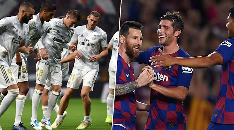 Barcelona vs Real Madrid El Clasico Football Match Faces Fear of Protests, La Liga Urges to Shift Venue Due to Unrest in Catalonia Province